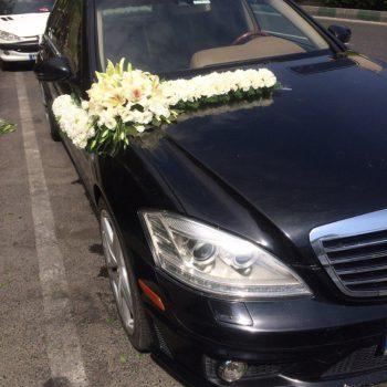ماشین عروس بنز