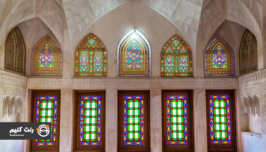 معماری خانه های تاریخی کاشان