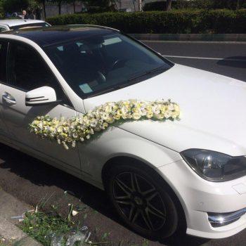 ماشین عروس بنز c200