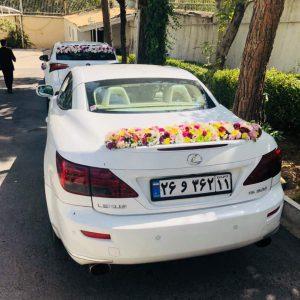 نمونه گل زده ماشین عروس لکسوس کروک